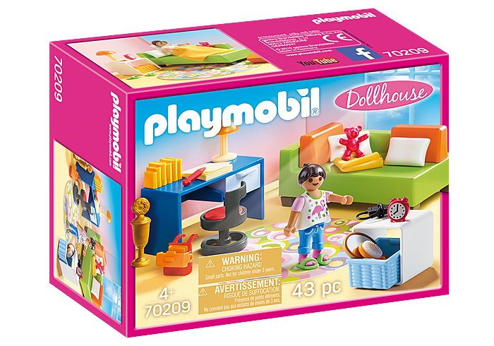 Playmobil Dollhouse - Teenager's Room