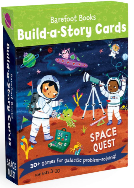 Build A Story Cards - Space Quest