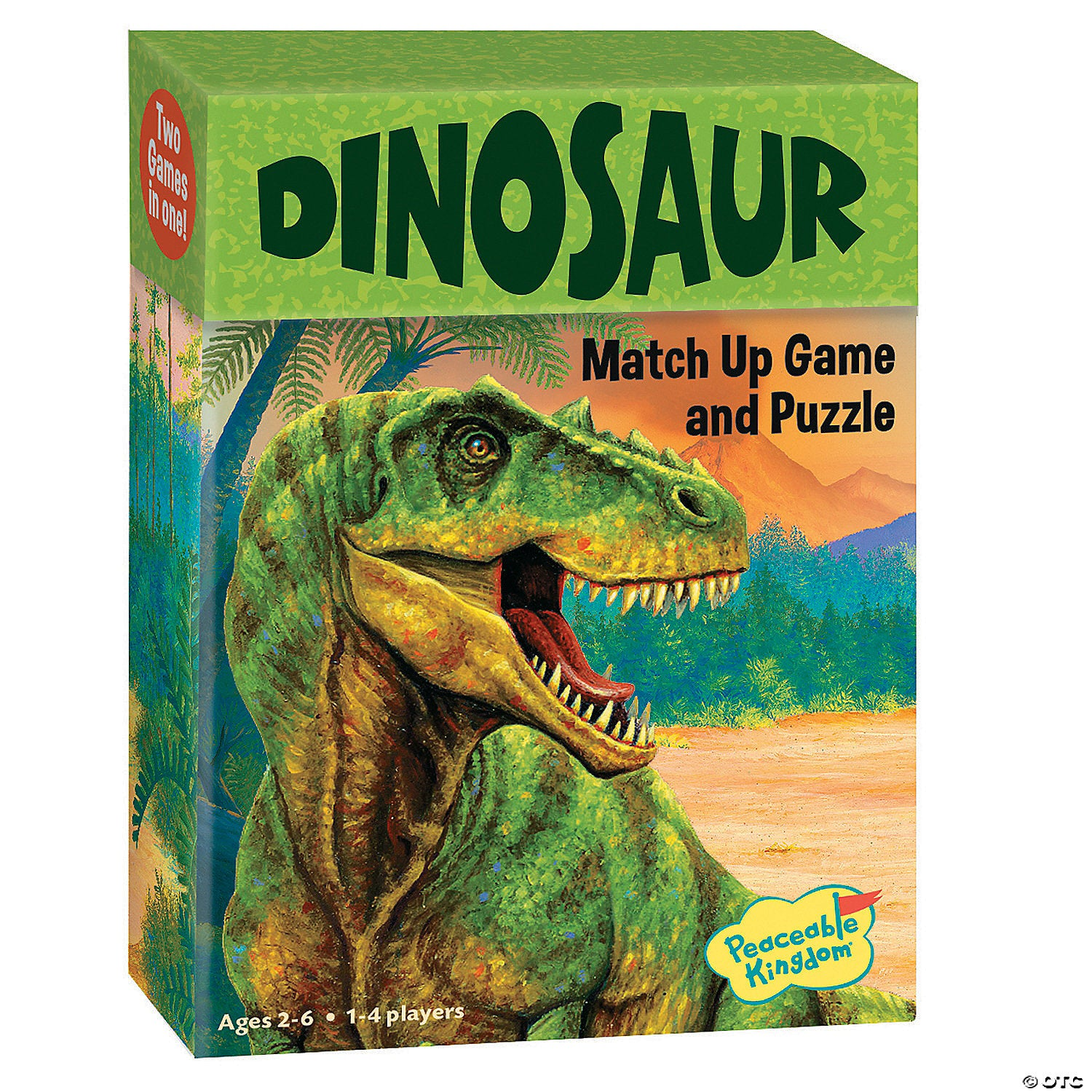 Dinosaur Match Up Game & Puzzle