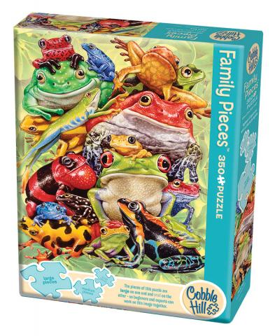 Frog Pile 350 piece Family Puzzle