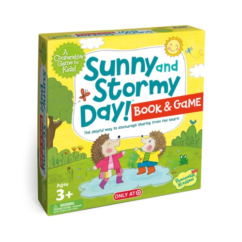 Sunny & Stormy Day! - Book & Game