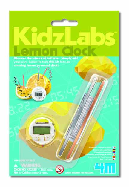 Kidz Labs: Lemon Clock