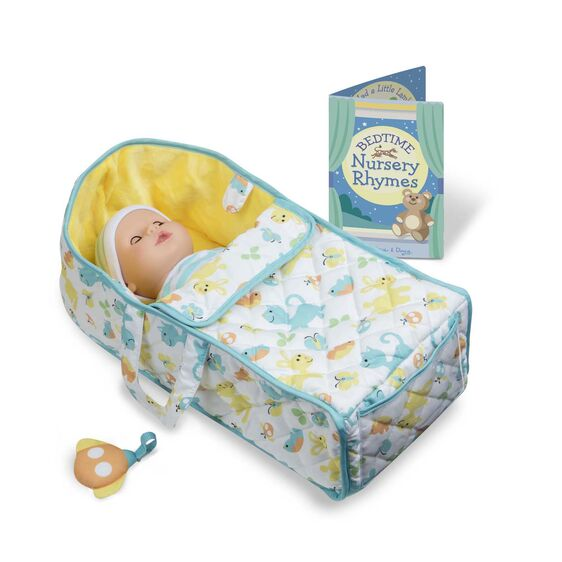 Melissa & Doug - Bassinet Play Set