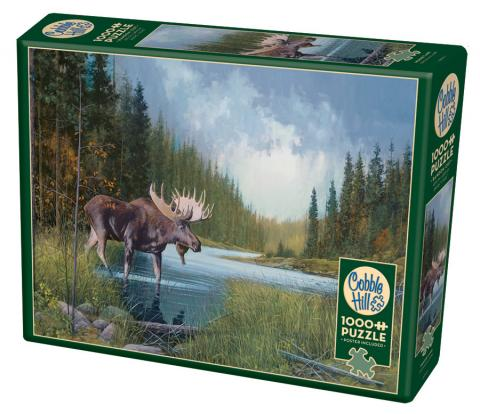Moose Lake 1000 piece Cobble Hill