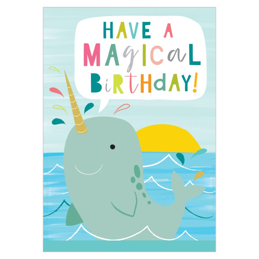 Narwhal Birthday - Think of Me