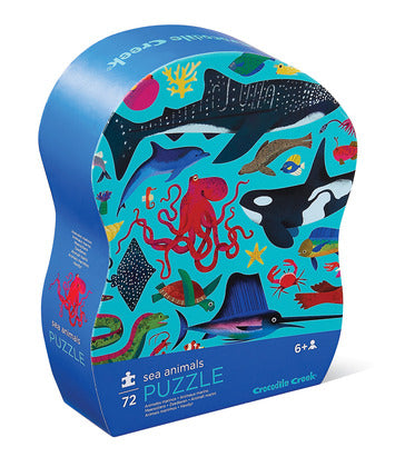 72 Piece Puzzle - Sea Animal