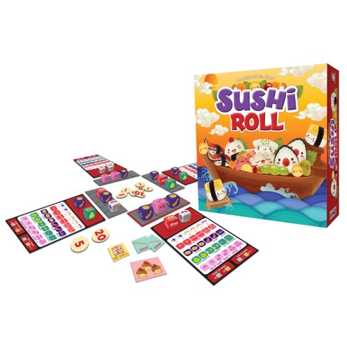 The Sushi Go! Dice Game: Sushi Roll
