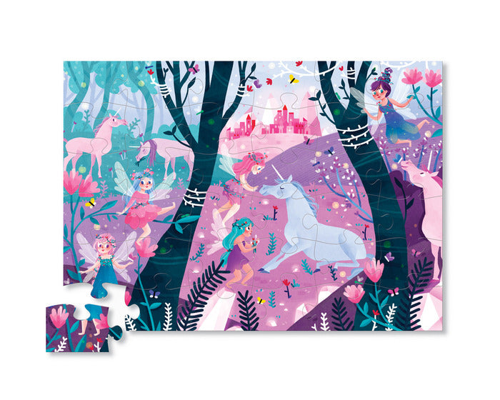 36 Piece Floor Puzzle - Unicorn Forest