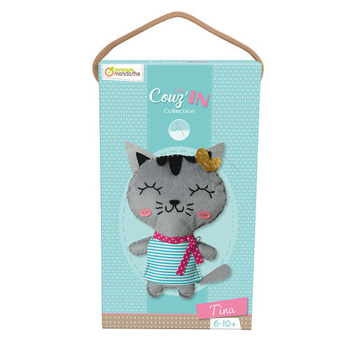 Tina the Cat - Cou'zin Sew Your Own