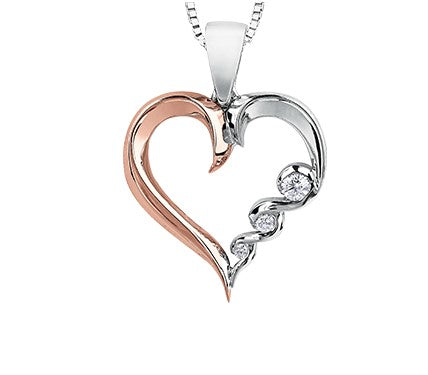 Tides Of Love Heart Pendant Fifth Avenue Jewellers Kamloops BC