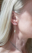 Load image into Gallery viewer, Bella Diamond Cut Pear Shaped Drop Earrings - Fifth Avenue Jewellers