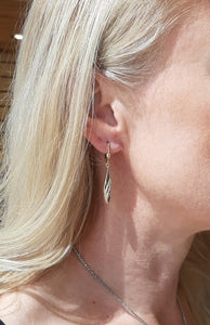 Bella Oval Dangle Earrings - Fifth Avenue Jewellers