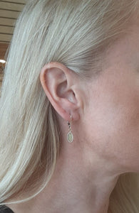 Bella Oval Drop Earrings - Fifth Avenue Jewellers