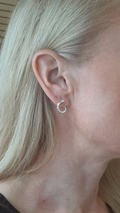 Bella Small Twisted Hoops - Fifth Avenue Jewellers
