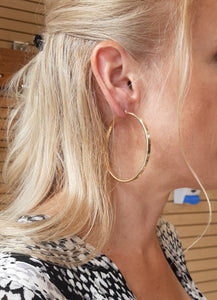 Big Gold Hoops - Fifth Avenue Jewellers