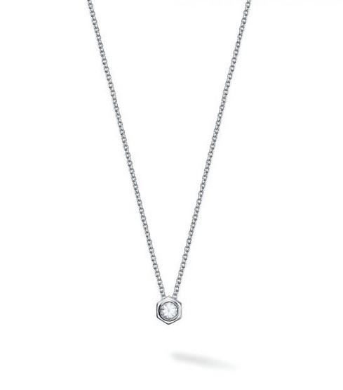 Birks Bee Chic White Quartz and Silver Pendant - Fifth Avenue Jewellers