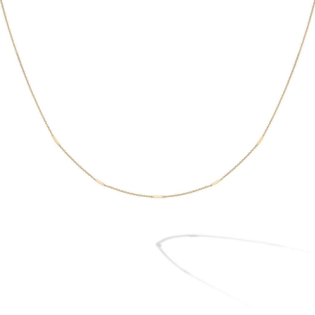 Birks Iconic Yellow Gold Rosée du Matin Necklace - Fifth Avenue Jewellers
