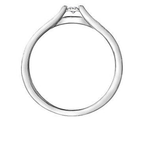 Bridge Over Water White Gold Ring - Fifth Avenue Jewellers