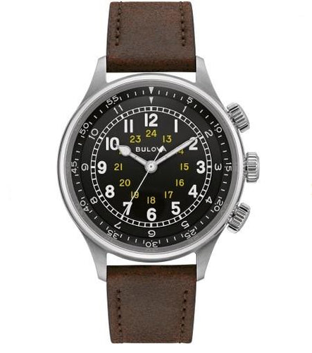 Bulova Men's A-15 Pilot Watch 96A245 - Fifth Avenue Jewellers