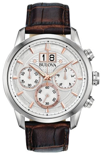 Bulova Mens Classic Watch 96B309 - Fifth Avenue Jewellers