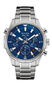 Bulova Men's Marine Star Chronograph Watch 96B256 - Fifth Avenue Jewellers