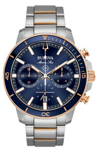 Bulova Men's Marine Star Chronograph Watch 98B301 - Fifth Avenue Jewellers