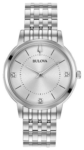Bulova Women's Classic Diamond Watch 96P183 - Fifth Avenue Jewellers