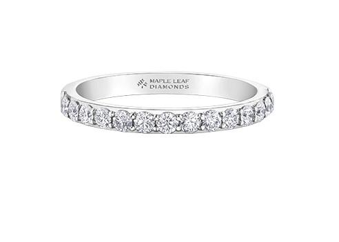Canadian Anniversary Band - Fifth Avenue Jewellers