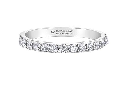 Canadian Diamond Band - Fifth Avenue Jewellers