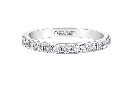 Canadian Wedding Band - Fifth Avenue Jewellers