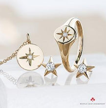 Load image into Gallery viewer, Casual Lux Large Diamond Star Earrings - Fifth Avenue Jewellers
