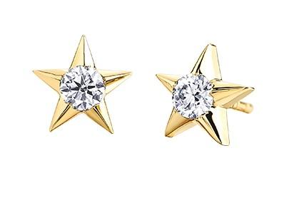 Casual Lux Small Diamond Star Earrings - Fifth Avenue Jewellers