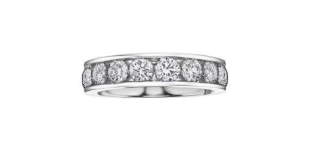 Channel Set Diamond Band - Fifth Avenue Jewellers