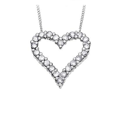 Classic Diamond Love Heart - Fifth Avenue Jewellers