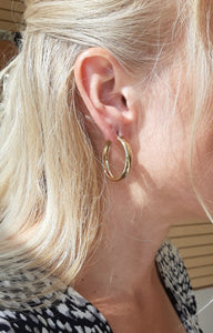 Classic Gold Hoops - Fifth Avenue Jewellers