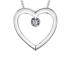 Classic Heart Necklace - Fifth Avenue Jewellers
