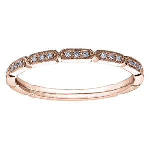 Dainty Twist Diamond Wedding Band - Fifth Avenue Jewellers