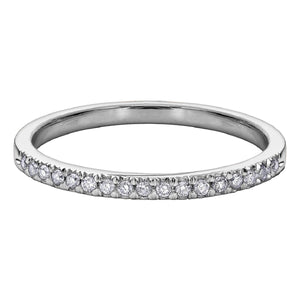 Diamond Anniversary Band in White Gold - Fifth Avenue Jewellers