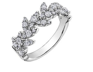 Diamond Wreath Ring - Fifth Avenue Jewellers