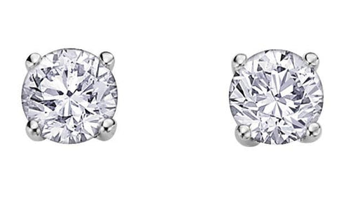 Eternal Flame Diamond Studs .20ct - Fifth Avenue Jewellers
