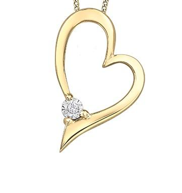 Freehand Illuminaire Heart Necklace - Fifth Avenue Jewellers