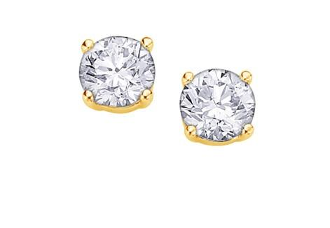 I Am Canadian Diamond Studs .15ct - Fifth Avenue Jewellers