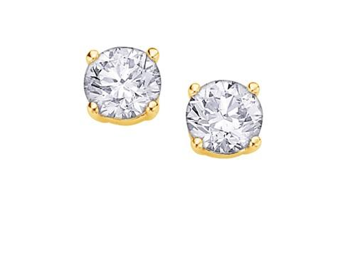 I Am Canadian Diamond Studs .30ct - Fifth Avenue Jewellers