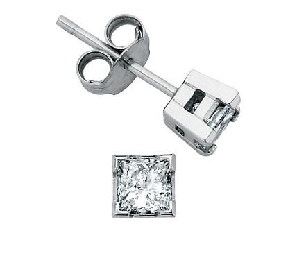 I Am Canadian Princess Studs .20ct - Fifth Avenue Jewellers