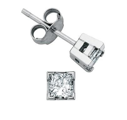 I Am Canadian Princess Studs .30ct - Fifth Avenue Jewellers