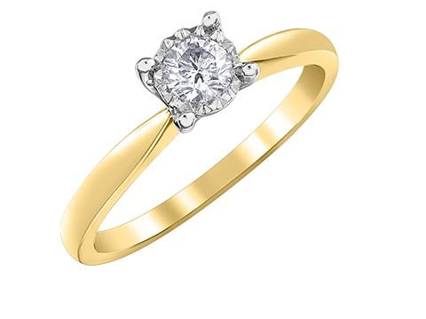 Illuminaire Diamond Solitaire Ring - Fifth Avenue Jewellers