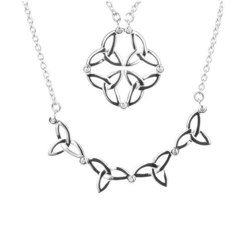 Keith Jack Celtic Synergy 2-in1 Necklace - Fifth Avenue Jewellers