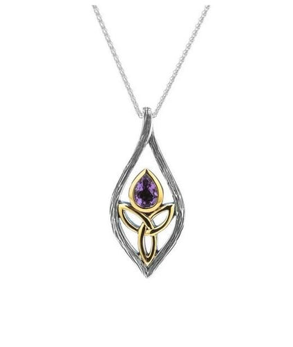 Keith Jack Large Guardian Angel Pendant - Fifth Avenue Jewellers