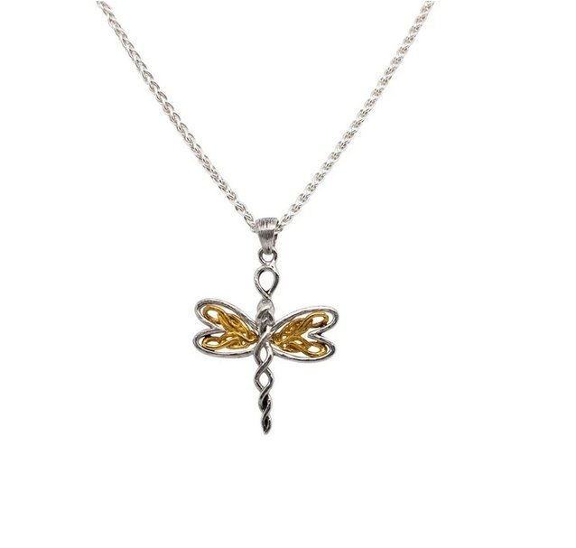 Keith Jack Petite Dragonfly Pendant With 10K Gold - Fifth Avenue Jewellers