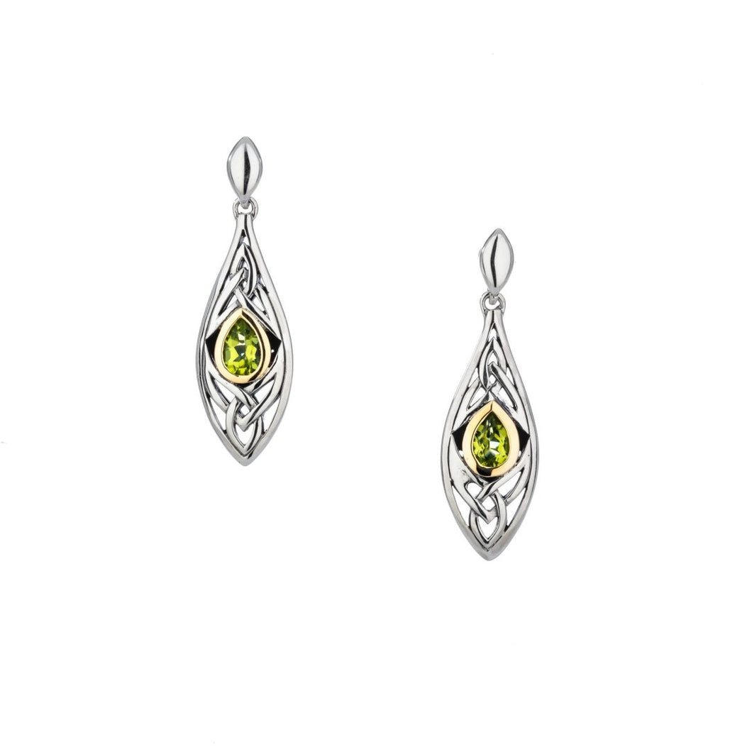 Keith Jack Sterling Silver 10k Yellow Gold Elven Earrings - Fifth Avenue Jewellers